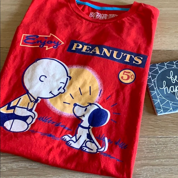 ***SOLD Threadless Enjoy Peanuts Tee